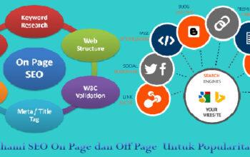Memahami SEO On Page dan Off Page Untuk Popularitas Website