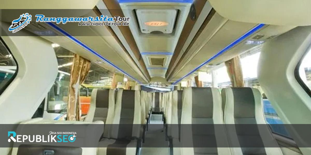 Fasilitas Sewa Bus Semarang yang disediakan oleh Ranggawarsita Tour