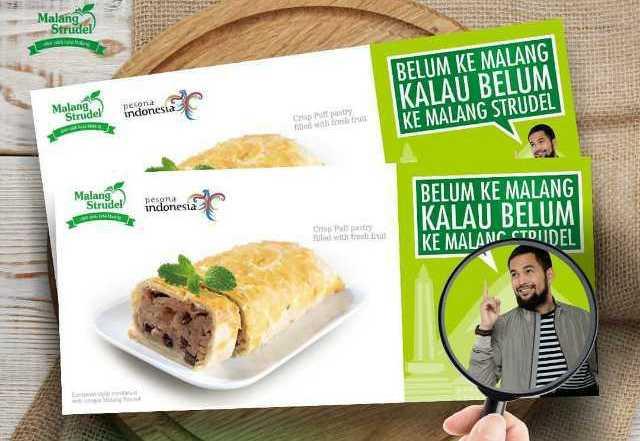 Oleh-Oleh Khas Malang Strudel Malang