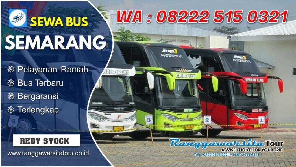 Sewa Bus Semarang Terbaik dan Terpercaya