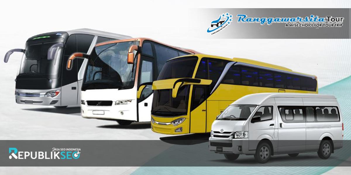 Ukuran Bus yang Disediakan oleh Ranggawarsita Tour