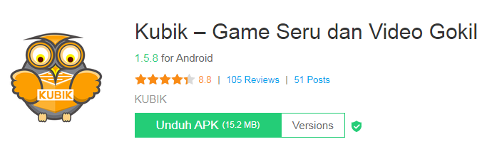 Aplikasi Android Kubik