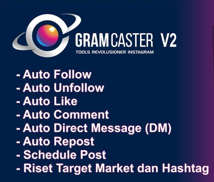 Aplikasi Jualan Online Gramcaster