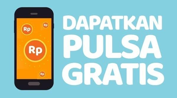 Aplikasi Mendapatkan Pulsa Gratis