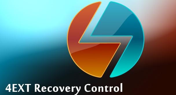 Aplikasi Recovery Data Terbaik 4EXT Recovery Control