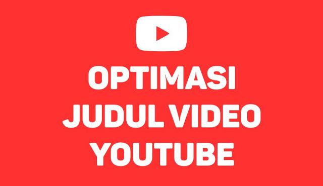 Membuat Ringkasan Judul Youtube