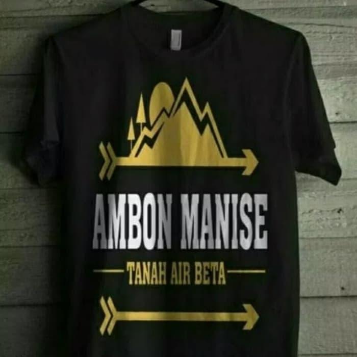 Oleh-oleh Khas Ambon Kaos Ambon Manise