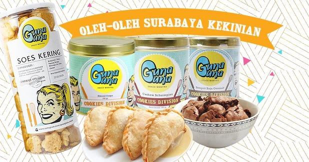 Oleh-oleh Khas Surabaya Guna-guna Snack