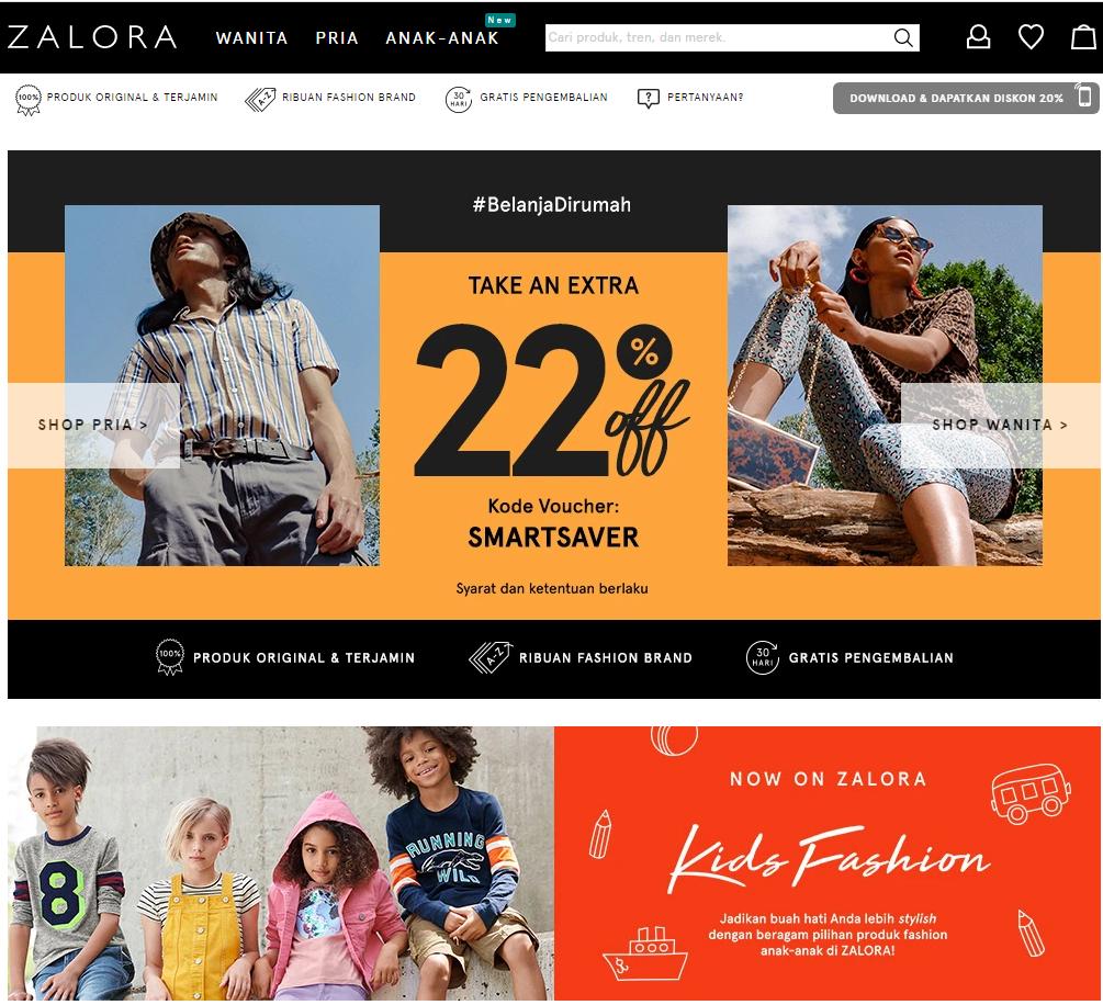 Situs Toko Online Zalora