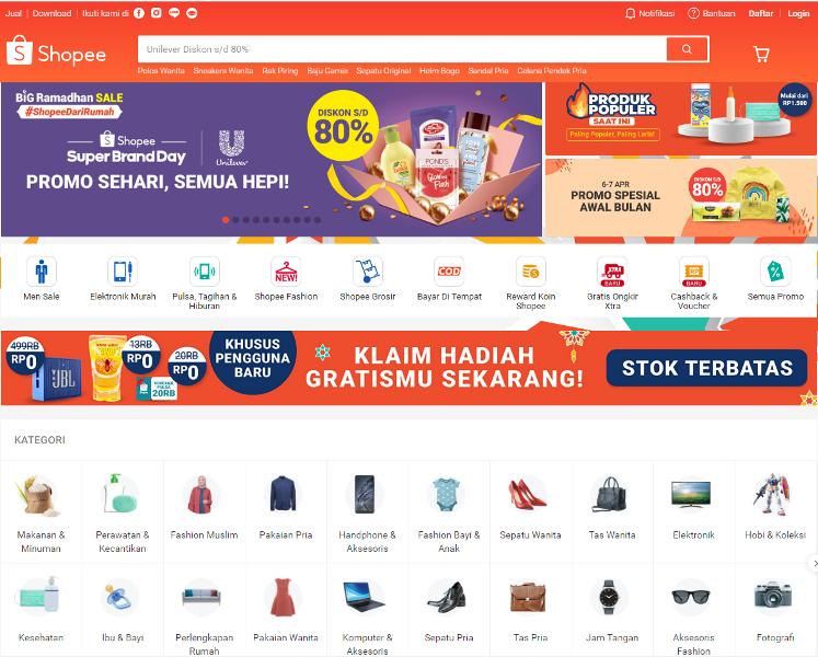 Toko Online Terbaik Indonesia Shopee