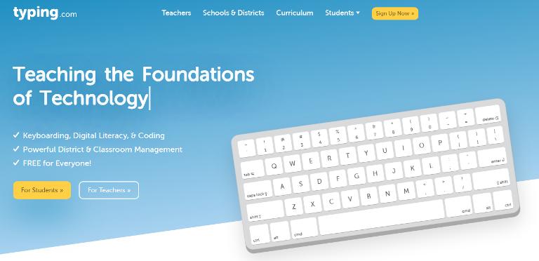 Typing Web'Free Tutor