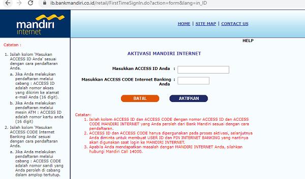 Cara Daftar Internet Banking Mandiri3