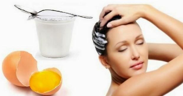 Cara Meluruskan Rambut Dengan Yoghurt dan Telur