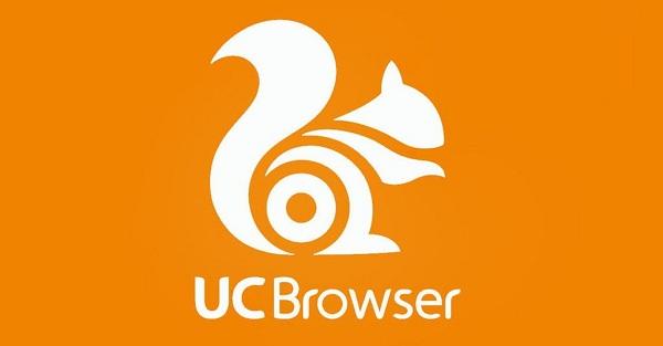 Melalui UC Browser