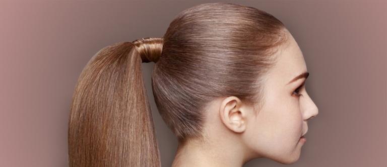 Tidak mengikat rambut dengan kencang