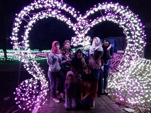 Wisata Malam Jogja Taman Lampion Kaliurang