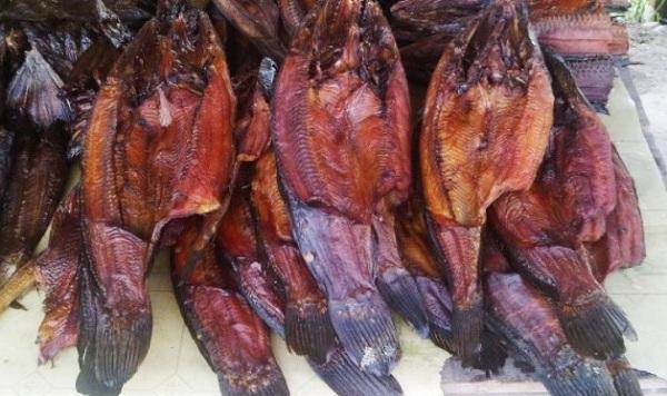 Ikan Salai Asap Khas Riau