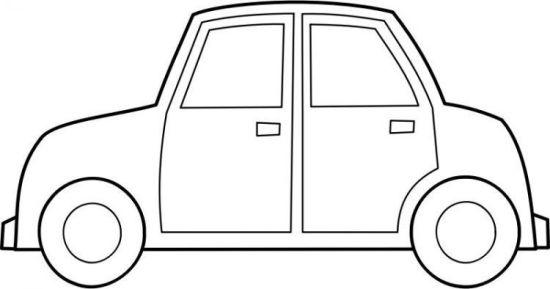 Mewarnai Gambar Transportasi Mobil