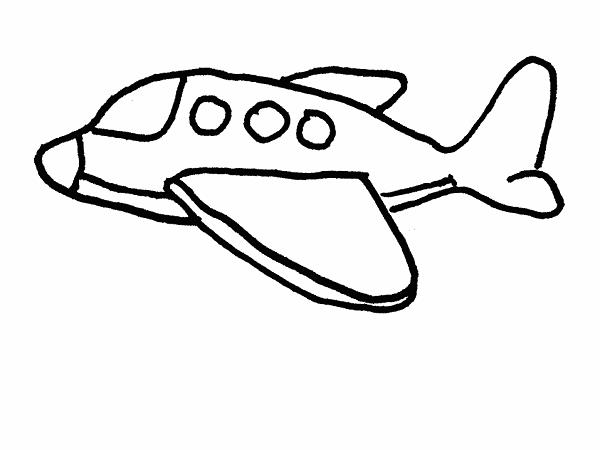 Mewarnai Gambar Transportasi Pesawat