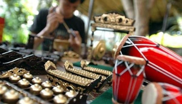 Miniatur Gamelan