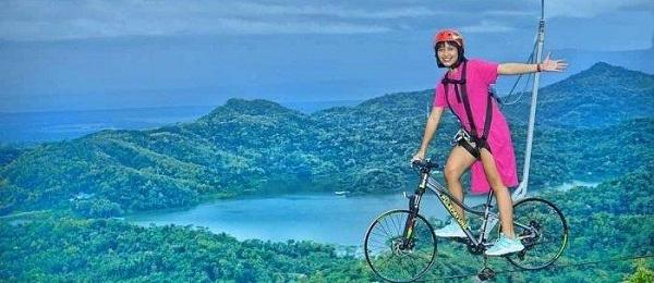 Sepeda langit Wisata Kalibiru