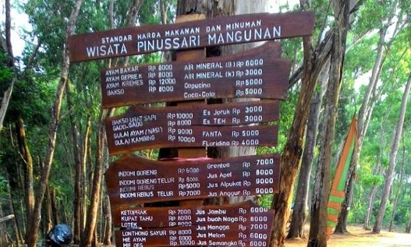 Warung Makan Hutan Pinus Mangunan