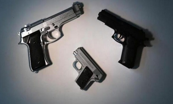 Kerajinan Replika Senjata Bengkulu