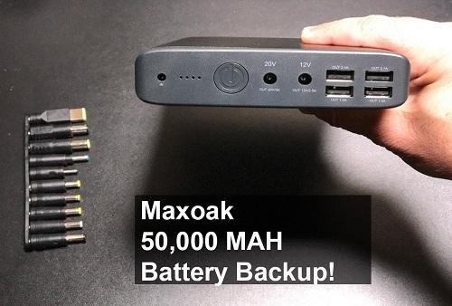 MAXOAK 50.000 mAh