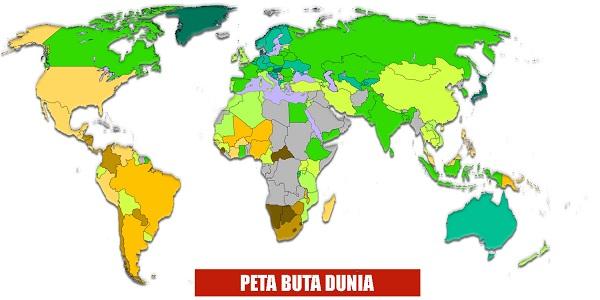Pengertian Peta Dunia