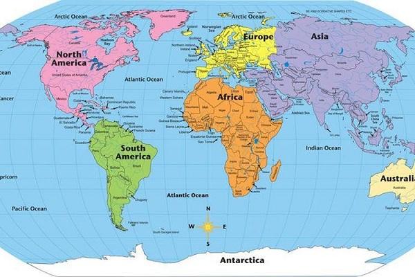 Sejarah Pembuatan Peta Dunia Hingga Sekarang