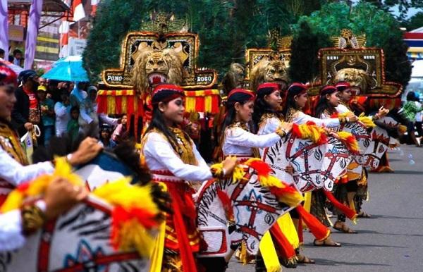 Tari Reog Ponorogo Jawa Timur