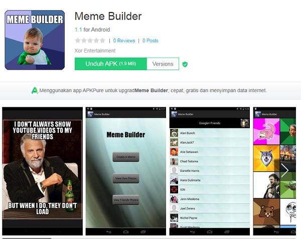Aplikasi Meme Builder