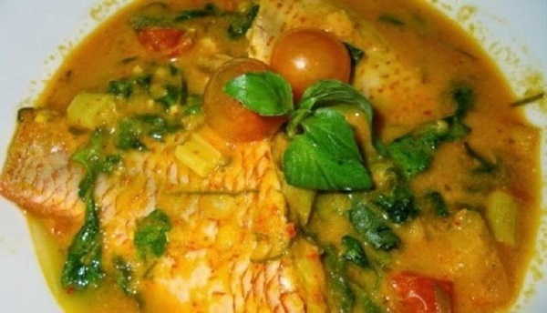 Gulai Tepek Ikan Jambi