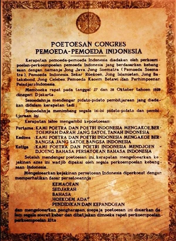 Putusan dari Kongres Pemuda-Pemuda Indonesia