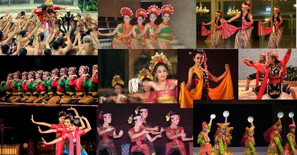 Berbagai Macam Tarian Daerah di Indonesia