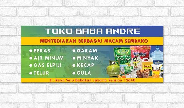 Contoh Banner Promosi Bisnis
