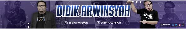 Konsultan Internet Marketing Didik Arwinsyah
