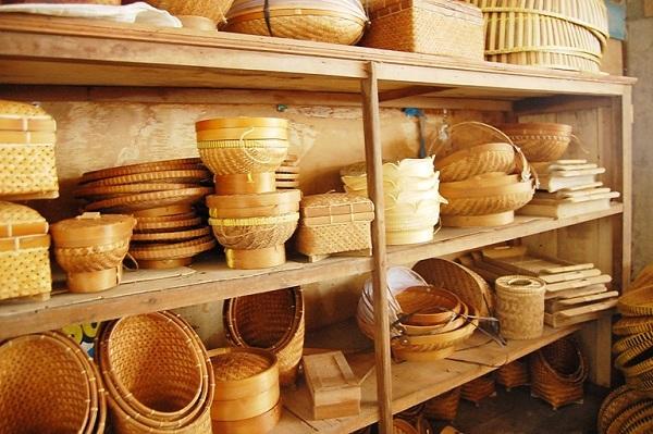 Kerajinan Bambu Ciakar serang