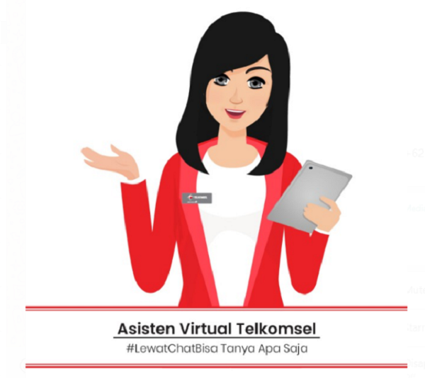 Fitur Tanya Veronika Asisten Virtual Telkomsel
